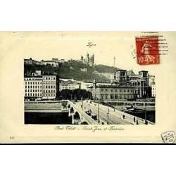 69 - Lyon - Pont Tilsitt - St-Jean et Fourviere
