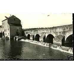 72 - Fresnay - Pont de Sille et le barrage - CPSM