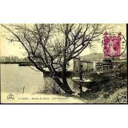 78 - Triel - Bords de Seine - Joli paysage - Pecheur