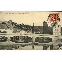 86 - Poitiers - Le pont de Rochereuil