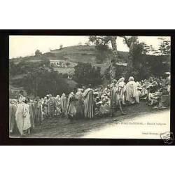 Algerie - Fort-National - Le marche indigene