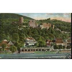 Allemagne - Heidelberg von der Hirschgasse