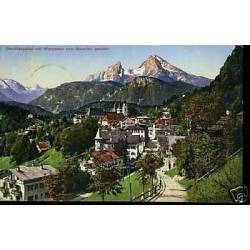Autriche - Berchtesgaden mit Watsmann vom Nonnthal ges.