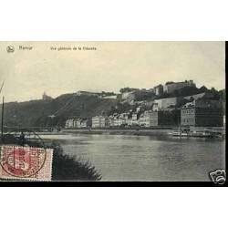 Belgique - Namur - Vue generale de la citadelle