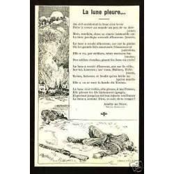 Chants patriotiques - La lune pleure par Amelie de Nery