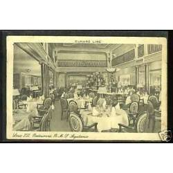 Cunard Line - Louis XVI restaurant - HMS Aquitania
