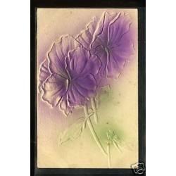 Fleurs - Carte en relief