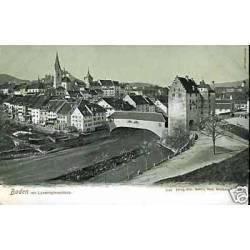Suisse - Baden mit Landvogteischloss