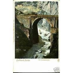 Suisse - Gotthard-Furka - Die Teufelsbrucke