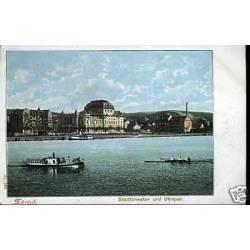 Suisse - Zurich - Stadttheater und Utoquai