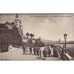 Monte carlo - Le théatre et les terrasses