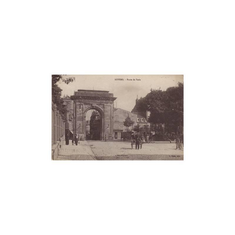 58 - Nevers - Porte de Paris - Animée