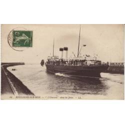 62 - Boulogne sur mer - L'Onsward dans les jetés