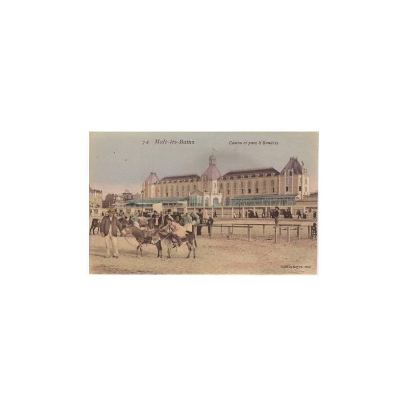 59 - Malo les Bains - Le casino et les baudets