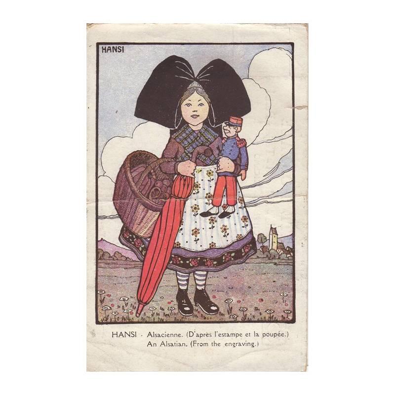 Hansi - Alsacienne à la poupée