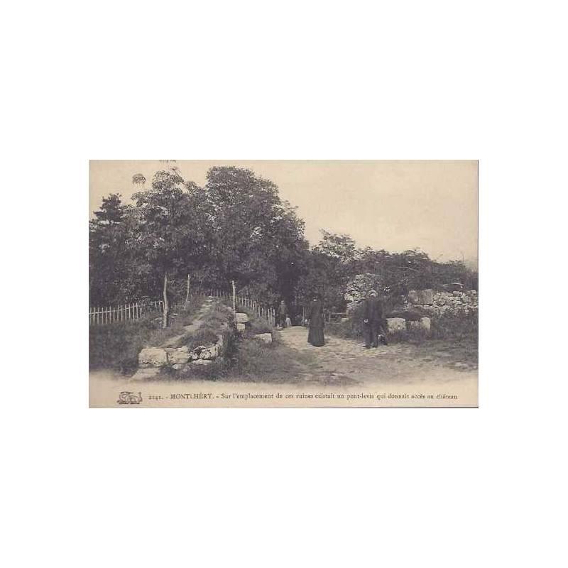 91 - Montlhéry - Ruines du pont levis
