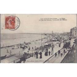 85 - Sables d'Olonne - La plage - Tramways