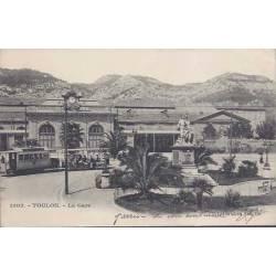 83 - Toulon - La gare - Tramway