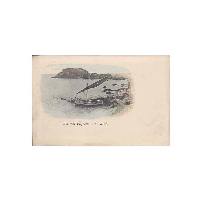 83 - Aux environs d'Hyeres - Un pointu - Couleur