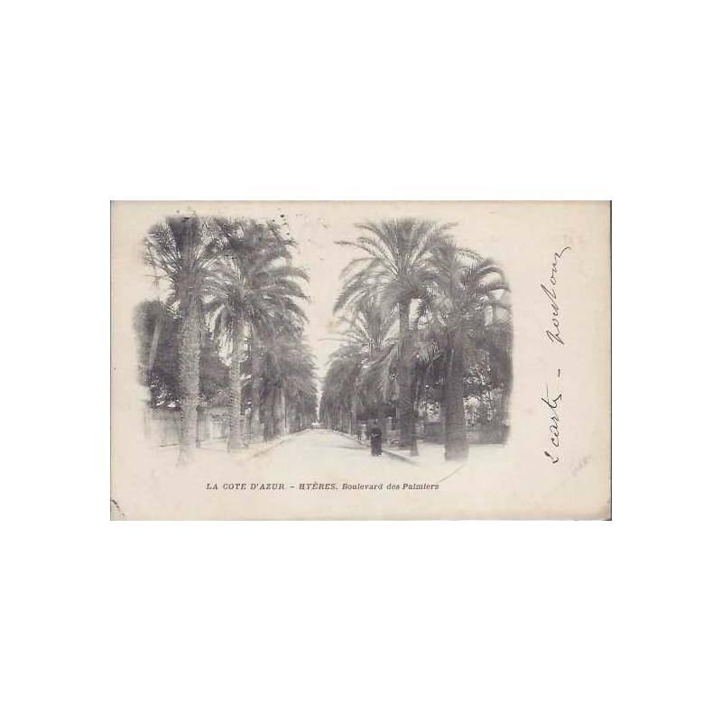 83 - Hyeres - Le boulevard des Palmiers