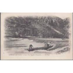 81 - Gorges du Tarn -Saut d'un rapide à Hauterive