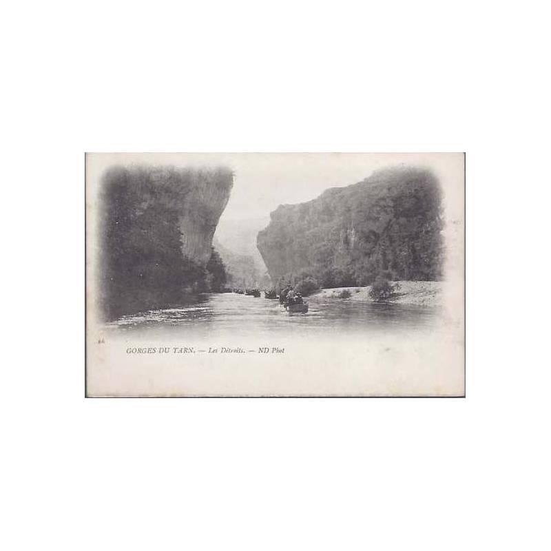81 - Les gorges du Tarn - Les détroits - Barques
