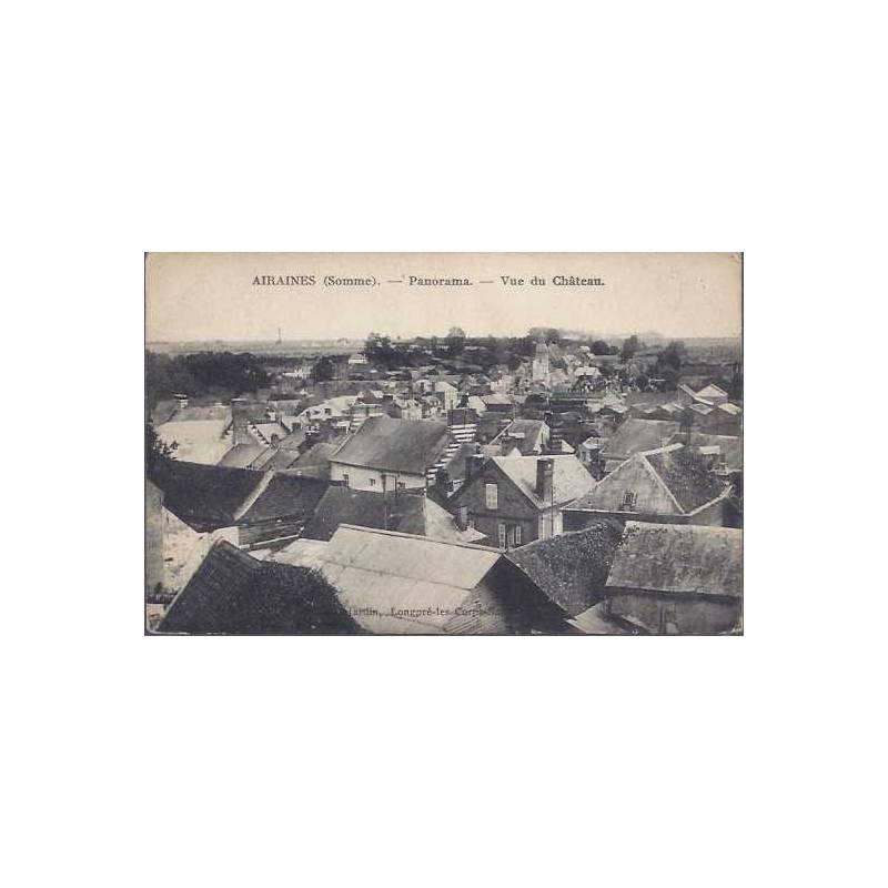 80 - Airaines - Panorama - Vu du chateau