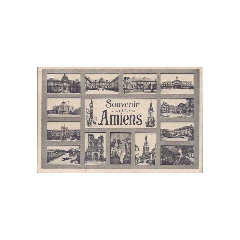 80 - Souvenir d'Amiens - Carte multivue