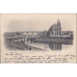 62 - Wimereux - L'Eglise et les ponts