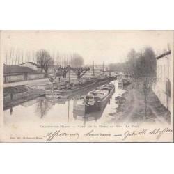 51 - Chalons sur Marne - Canal de la Marne au Rhin