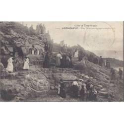 35 - Rotheneuf - Visite aux rochers sculptés