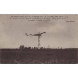 Delagrange sur monoplan Blériot Aout 1909