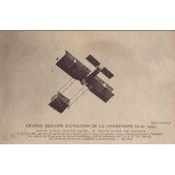 Biplan Voisin piloté par Paulhan
