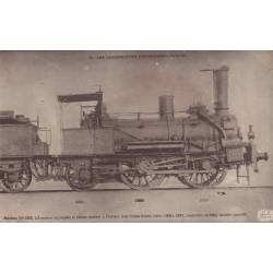 Locomotives Francaises - Orléans - Machine N° 1375