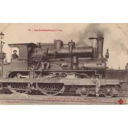 Locomotive de la Cie de l'Est du type Outrance