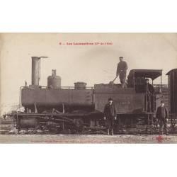 Ancienne locomotive tender de la Cie de l'Est