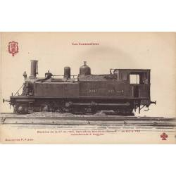 Locomotive de la Cie de l'Est Service de banlieue