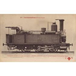 Locomotive-tender de la Cie de l'Ouest à 6 roues accouplées