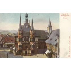 Allemagne - Harz Wernigerode - Rathaus