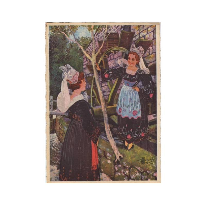 29 - Jeunes filles de Pont-Aven par Homualk