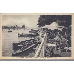 03 - Vichy - les bords de l'Allier - Chale de cannotage