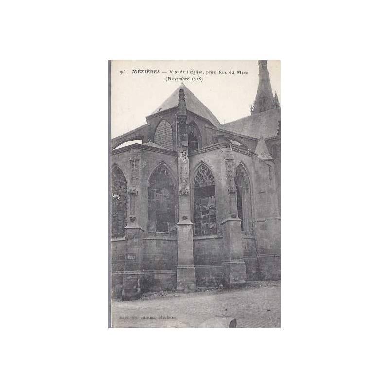 08 - Mézières - Vue de l'Eglise prise du Mess