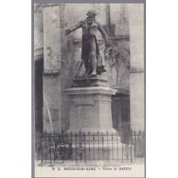 10 - Arcis sur Aube - Statue de Danton