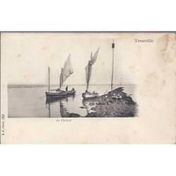 14 - Trouville - Le Pierret - Bateaux