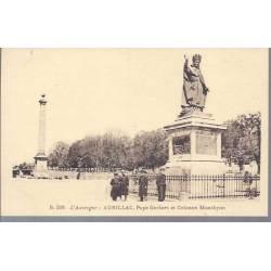 15 - Aurillac - Pape Gerbert et colonne Monthyon
