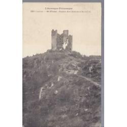 15 - St-Flour - Ruines du chateau d'Alleuse