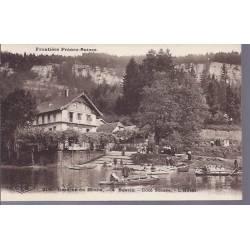 25 - Bassin du Doubs - Coté suisse - L'hotel