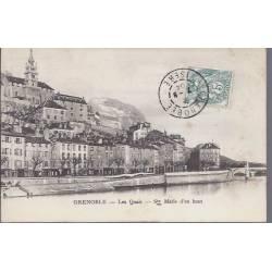 38 - Grenoble - Les quais - Ste Marie d'en haut