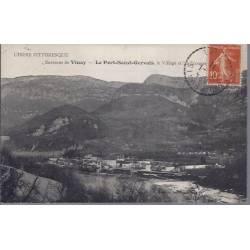 38 - Le port-St-Gervaisc,le village et les Ecouges