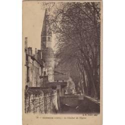38 - Crémieu - Le clocher de l'Eglise